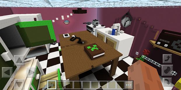 Hide And Seek Kitchen Map For MCPE Screenshot Thumbnail
