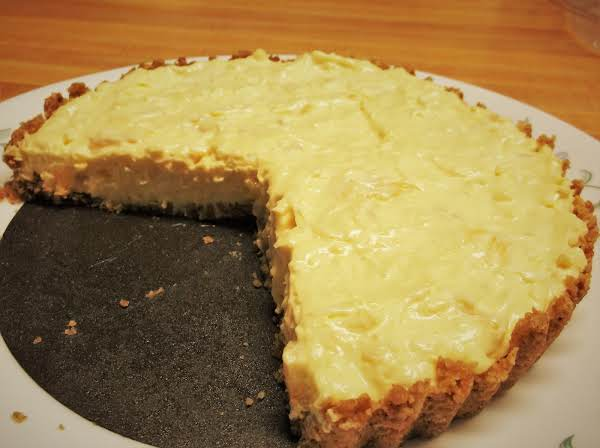 Diabetic Pineapple Coconut Tart.