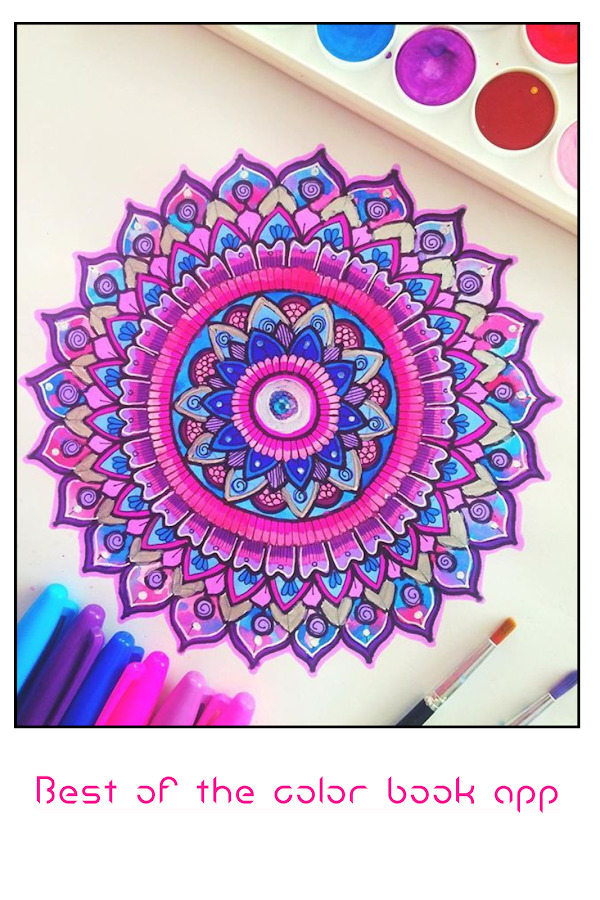 Mandalas Color Book