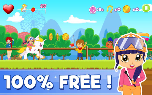 Pony Ride With Obstacles 5 screenshots 1