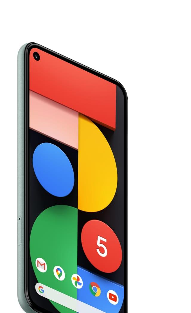 Google Pixel 5 Google がお届けする究極の5G 対応スマートフォン ...