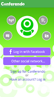 Screenshot of Conferendo Free Videochat