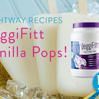 VeggiFitt Vanilla Yogurt Smoothie Pops!