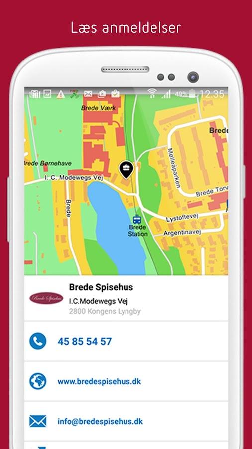 Krak - Søg lokalt- screenshot