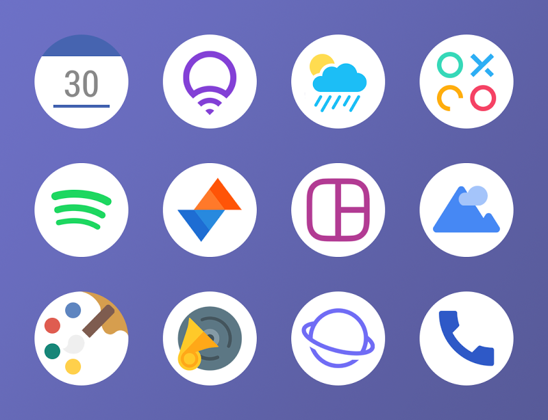 Potem - Icon Pack Screenshot 2