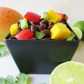 Black Bean Mango Salad.