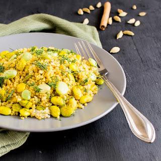 Quinoa Lima Beans Dill Pilaf Recipe