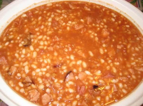 Louisa's Sweet And Yummy Baked Beans Recipe