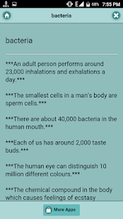 Human Body Remarkable Facts - náhled