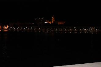 Photo: El Puerto y al fondo la Catedral de Málaga