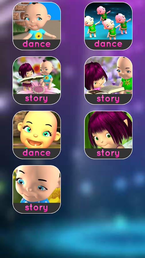 Talking Babsy Baby: Baby Games- screenshot
