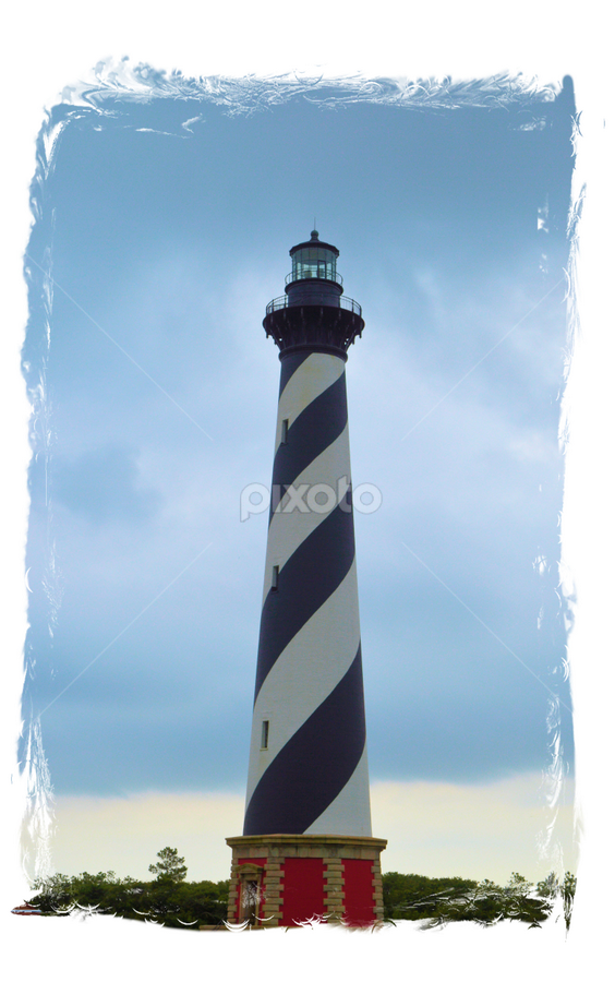 by Teresa Wooles - Buildings & Architecture Statues & Monuments ( cape hatteras, lighthouse, north carolina )