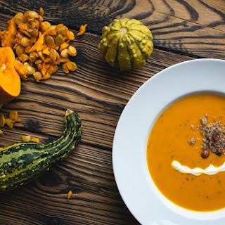 Creamy Pumpkin Soup Garlic Recipes