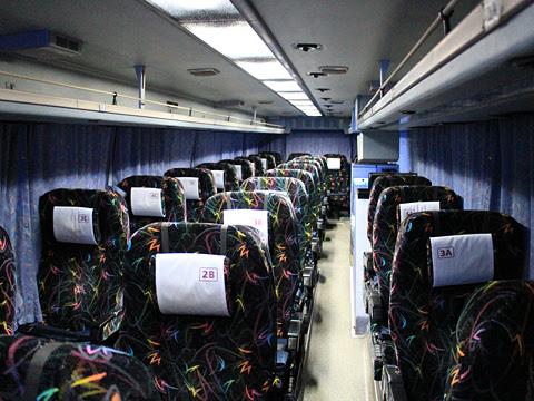 阪急バス「よさこい号」 05-2889 車内