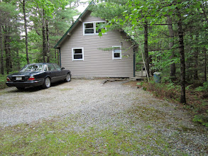 Photo: Parking area behind the cottage
