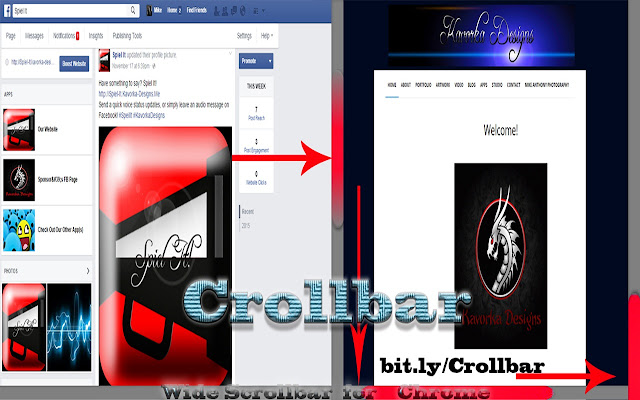 Crollbar (Black/Red Version)