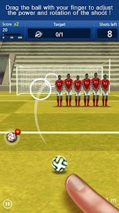 Finger soccer : Football kick Screenshot