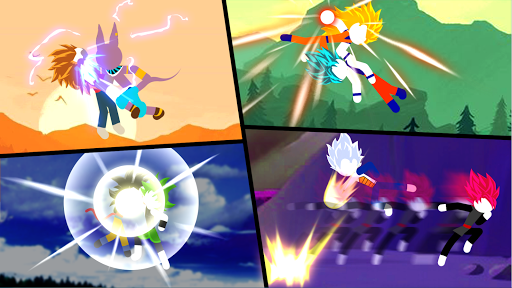 Super Stick Saiyan Warriors - Stick Z Fight 1.6.8 screenshots 2