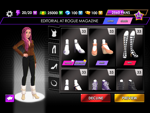 Fashion Fever - Dress Up, Styling and Supermodels 1.2.1 screenshots 18