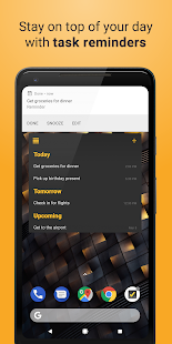 Done - Daily planner, to do, widget and reminders Screenshot