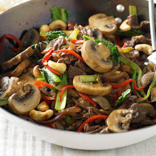 Stir Fried Beef With Mushrooms Recipes