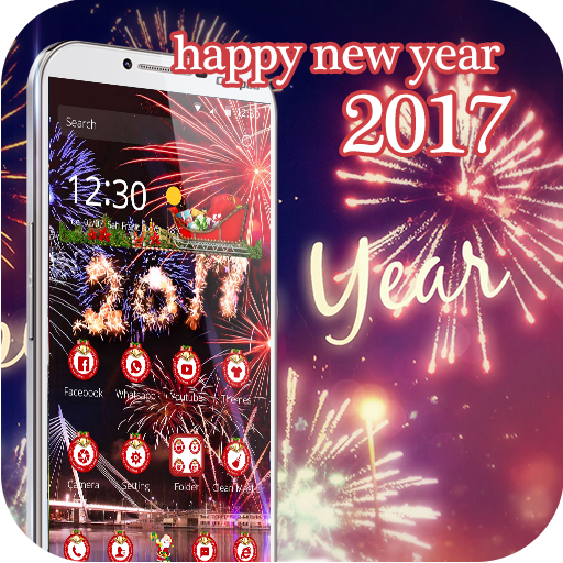2017 Happy New Year theme 3D (app)