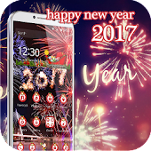 2017 Happy New Year theme 3D