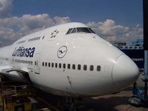 Photo: letadlo z Frankfurtu