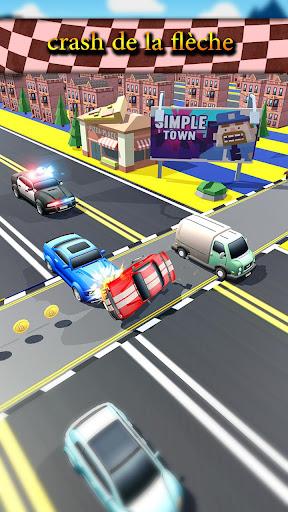 Code Triche trafic Taxi courir 2019: 3d échapper coureur APK MOD (Astuce) screenshots 3