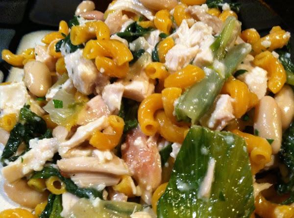 Escarole N Beans Chicken Pasta Recipe