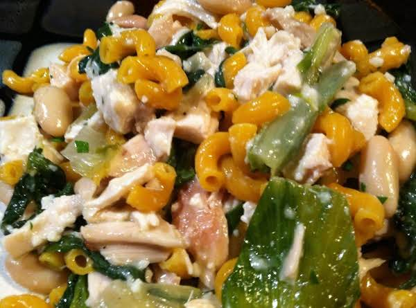 Escarole N Beans Chicken Pasta Recipe