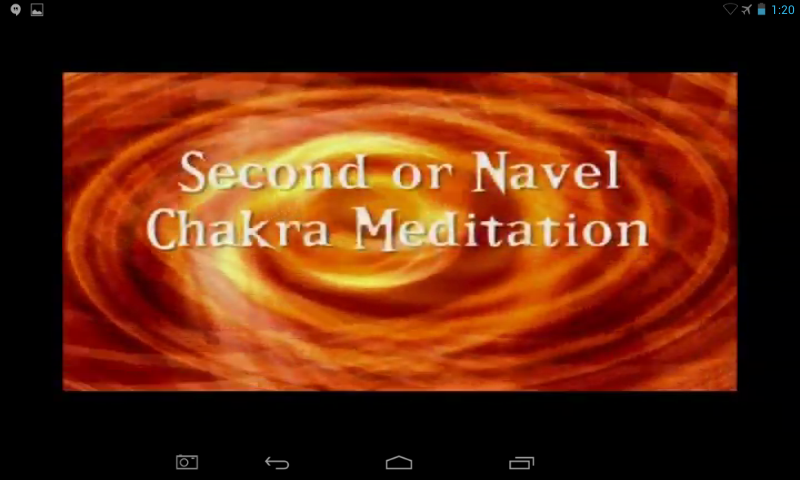 Sacral Chakra Video Meditation- screenshot