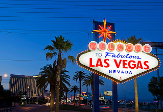 Photo: A view of the Welcome to Fabulous Las Vegas sign in Las Vegas, Nevada September 10, 2011. STEVE MARCUS