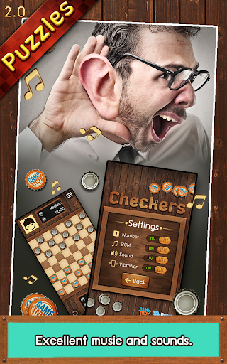 Thai Checkers - Genius Puzzle - หมากฮอส apklade screenshots 2