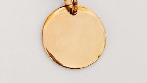 bracelet-medaille-plaque-or