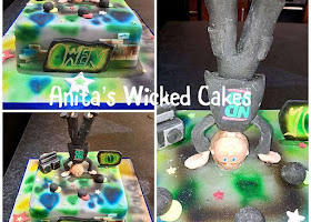 Break dance cake