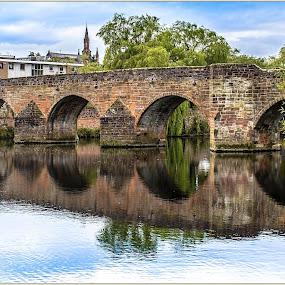 Dumfries by Sandy Crowe - Buildings & Architecture Bridges & Suspended Structures