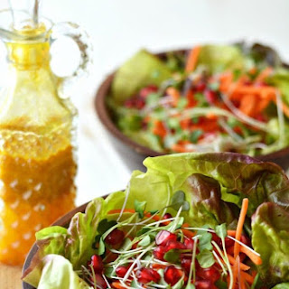 Salad with a Turmeric Vinaigrette Recipe
