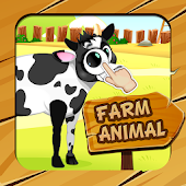 Farm Animals Parts Puzzle for kids