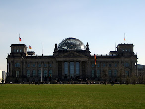 Photo: Der Reichstag in Berlin