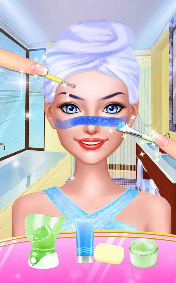 Seaside Wedding Salon Girl SPA- screenshot