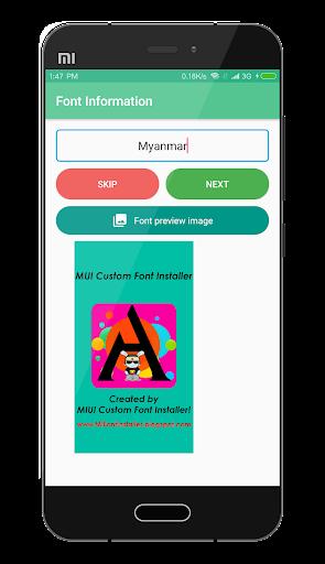 MIUI Custom Font Installer 1.2 screenshots 4