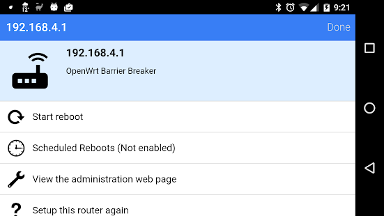 Download Reboot My OpenWRT Router For PC Windows and Mac apk screenshot 9