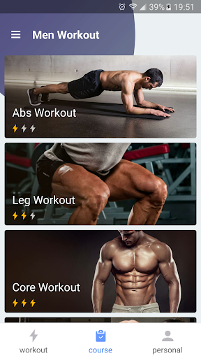 Men Workout - Abs workout for men - screenshot