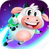 Flappy Bird 3D Lola the cow and Friends