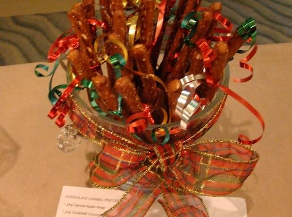 Chocolate Caramel Pretzels Recipe