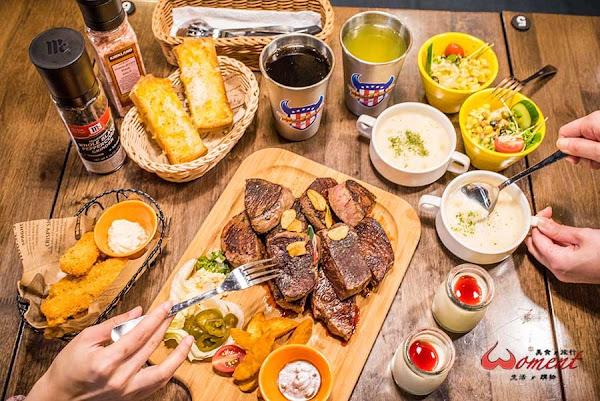 水牛城美式炭烤牛排-小巨蛋店,40盎司牛排、飲料無限暢飲!朋友聚會超盡興!