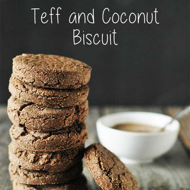 Teff And Coconut Biscuits
