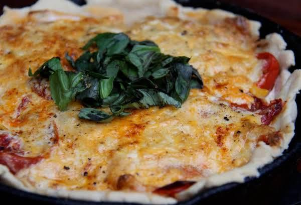 Dijon-tomato & Sweet Onion Pie