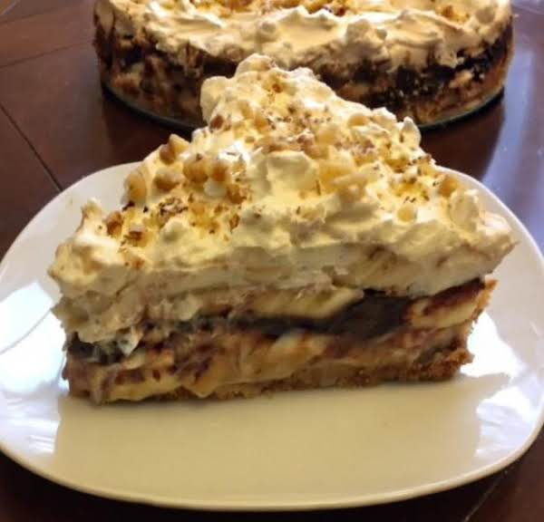 Chocolate Dulce Leche Banana Cream Pie